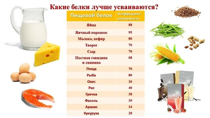 Незаменимый белок или сушка: вход воспрещен. Список продуктов, богатых белком.