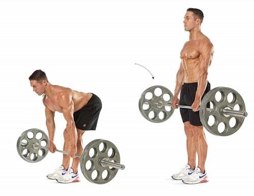 Правильная техника выполнения становой тяги и боли после