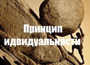 Принцип индивидуальности (индивидуализации)