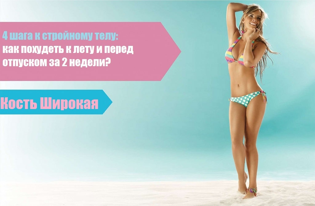 Простая инструкция к стройному телу: как похудеть к лету и перед отпуском за 2 недели?