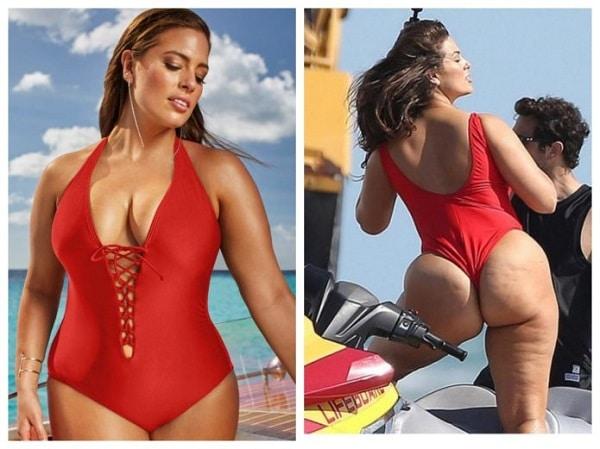 26 фото, как в реальности выглядят тела plus-size моделей: красота требует фотошопа