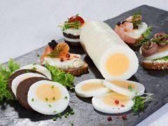 Удивляем гостей: прямые яйца в домашних условиях - блюдо со страниц журналов
