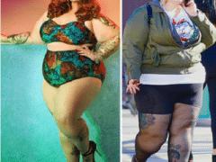 Как в реальности выглядят тела 13 плюс сайз моделей: фото без фотошопа