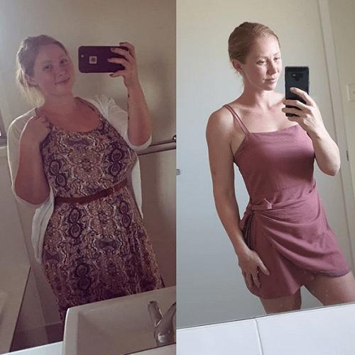 Минус 57 кг. за счет пары мелких изменений: реальная история, как 126 килограммовая девушка похудела, не напрягаясь