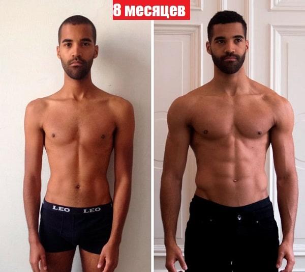"""8 фото """"до и после"""", как круто спорт меняет тело всего за несколько месяцев: мотивация с фактами"""