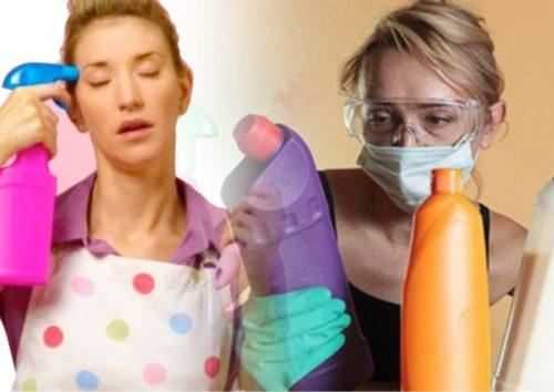 Цена чистоты: бытовая химия оказалась опаснее 20 сигарет в день